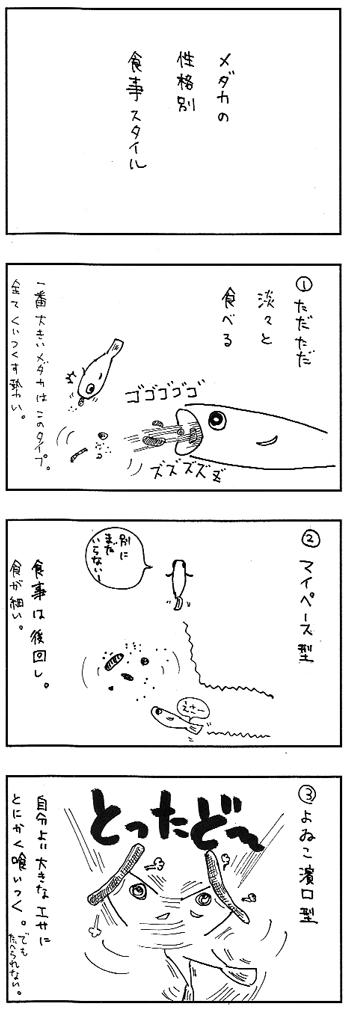 メダカ漫画
